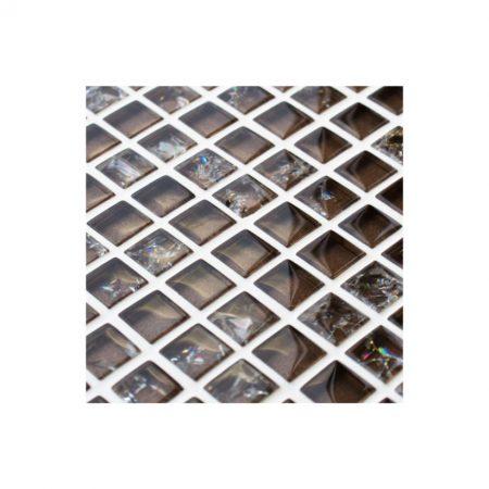 Starburst Glass and Stone Mosaic Tiles