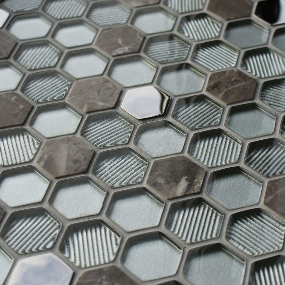 Honeycomb Silver