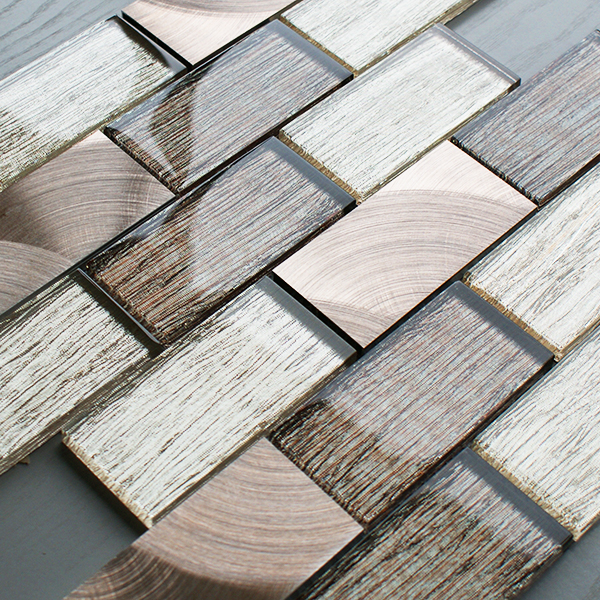 Portland brown brick tiles craft for Mosaic tiles for craft
