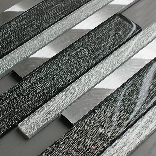 Portland Grey Linear Tiles Craft