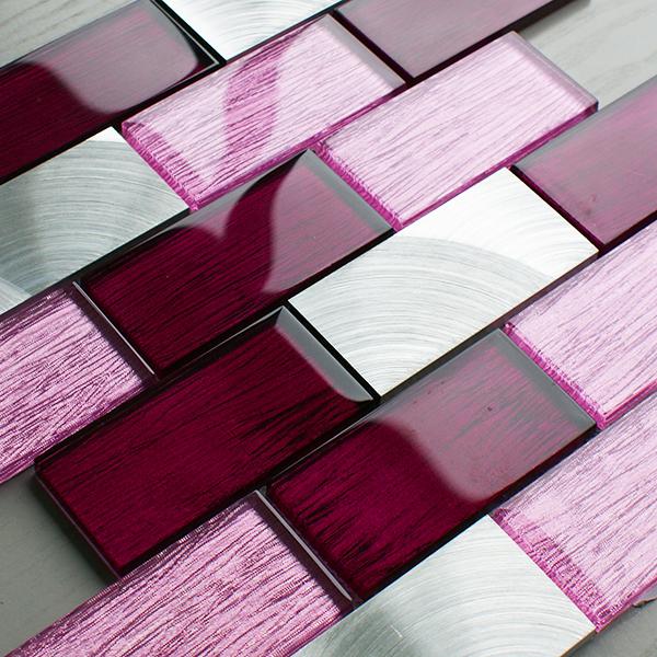 Portland Pink Brick Tiles Craft