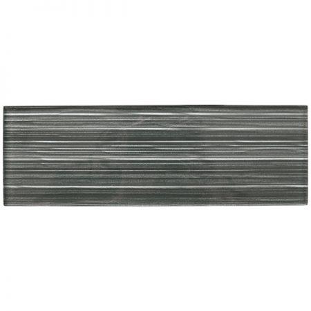 Liberty Charcoal Glass Brick Tile