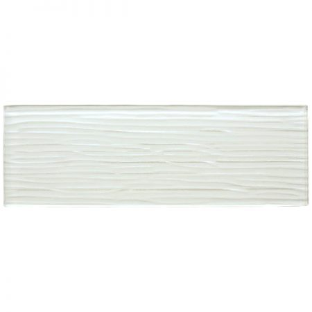 Liberty White Glass Brick Tile