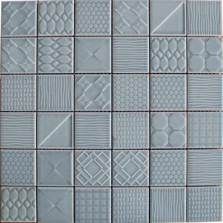 Applique ceramic mosaic tiles Skyllite