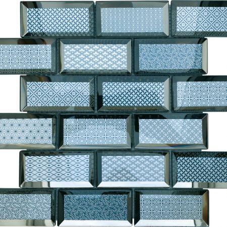 Casablanca blue brick tiles