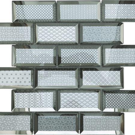 Casablanca grey brick tiles